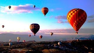 2   Полет на воздушном шаре над Каппадокией.  Макс. высота 800м.    JULI ROSE