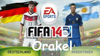 preview picture of video 'Let´s Play FIFA 14 Orakel - Deutschland vs Argentinien [PS4]'