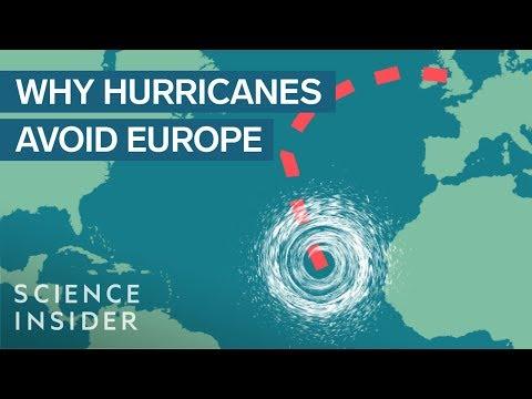 Γιατί οι τυφώνες δεν πλήττουν ποτέ την Ευρώπη;