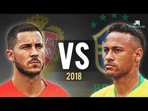 Neymar Jr. vs Eden Hazard 2017/2018
