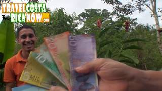 Exchanging Money in Costa Rica Currency Dollars to Colones