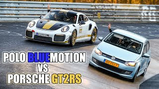 """FIRST NÜRBURGRING Lap with our new """"RingTool"""" vs Porsche GT2RS MR!"""