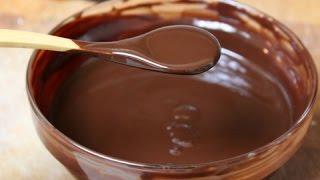 Chocolate Glaze Recipe - How To Make Chocolate Glaze