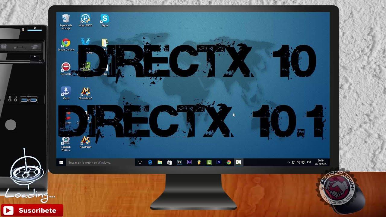 Descarga de Directx10.1 y Directx10 2016 MEGA 100% Full Crackeado