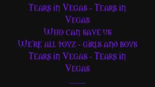 Cinema Bizarre - Tears In Vegas - (Full version w/Lyrics)