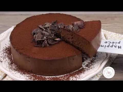 Torta mousse al cioccolato facile e veloce ricetta Ho Voglia di Dolce