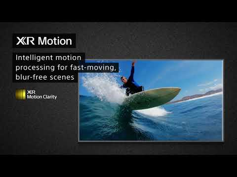 Sony Television XR85X95JU - Black Video 1