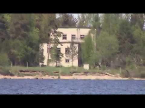 """VLOG: Ладожское озеро. Красоты северных шхер\настоящий  паровоз """"Комсомолец"""" времен блокады."""