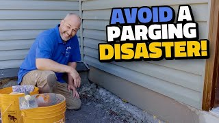 Avoid A Parging Fail With These DIY Tips And Techniques