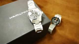 Hamilton Khaki Field Watch Automatic (H70455133 / 38 mm / H10) Uhr Clock Watch