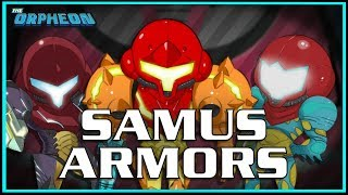A Look Through Samus Armors