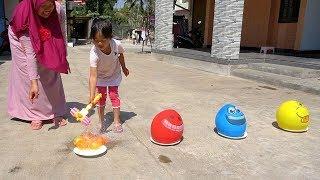 Bernyanyi FINGER FAMILY BALLOONS SONG Belajar Warna Dengan Balon Lucu VERSI KEYSHA