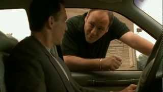 Tony Joking With Mikey Palmice   The Sopranos HD