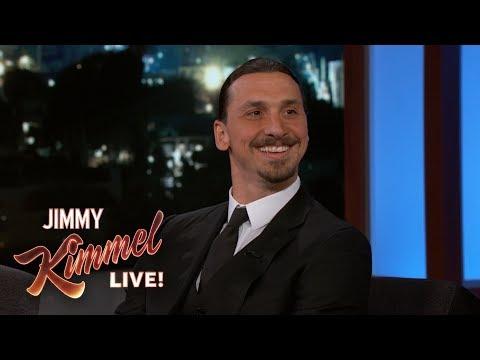 Zlatan Ibrahimović o LA Galaxy, přezdívkách a mistrovství světa - Jimmy Kimmel Live!