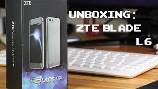 Billig Smartphone : ZTE Blade L6 Unboxing - deutsch