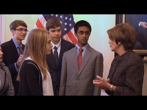 Nancy Pelosi Teenager Teen Confronts ...