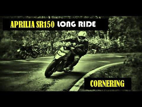 Aprilia SR150: vlog 4th:  OWNERSHIP REVIEW: Long ride: Cornering: LORDs