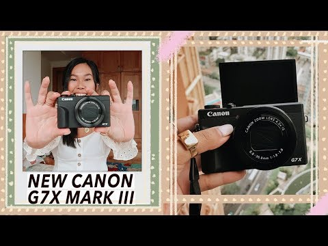 Canon G7X III - Unboxing, Vlogging Test & Initial Review