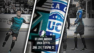 St Louis Ambush vs Utica City FC