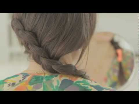 Hunger Games-Inspired Dutch Braid