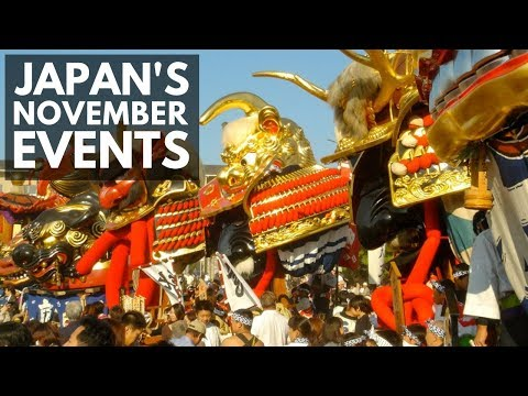 Things To Do In Japan In November | Autumn Festivals and Events | Lin Nyunt
