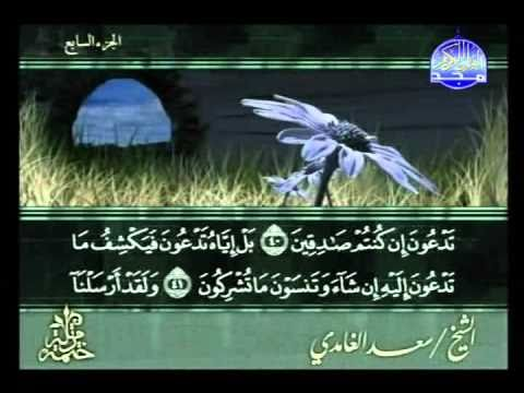 الجزء 7 :: القارىء الشيخ سعد الغامدي