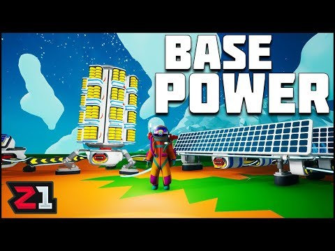 Astroneer New Summer UPDATE ! New Base Power Design ! Astroneer Gameplay | Z1 Gaming