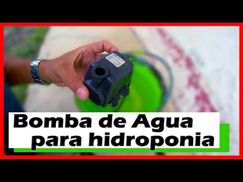 Bomba de Agua sumergible para Fuente o Hidroponico  ★ WATER PUMP HYDROPONIC ● @todoinventostv # 44