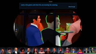 [bucklington Stream] [spy Party] Secret Agent Buck - 4/13/18 [part 1]