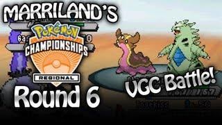 Pokemon Winter VGC 2013: Round 6 (Marriland vs. Kamaal aka Sixonesix)