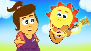 Morning Routine Song | Kids Go To School | Original Songs And Nursery Rhymes by HooplaKidz