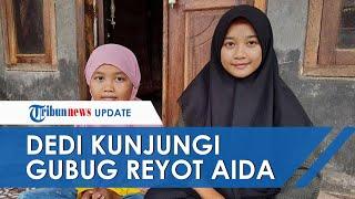 Kunjungi Pelajar yang Hidup Sebatang Kara di Gubug Reyot, Dedi Mulyadi Beri Nuraida Bantuan