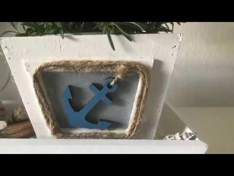 DIY: Wohn.- und Deko Idee, aus alt mach neu, Holzkiste sommerlich aufpimpen, (How to) / Deko Jana