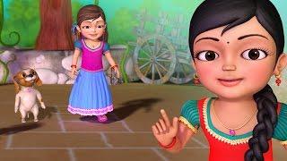 நொண்டி ஆட்டம் | Tamil Rhymes for Children | Infobells