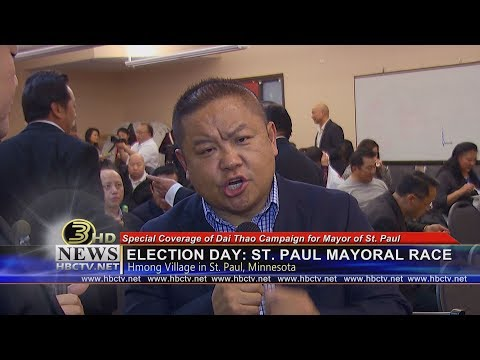 3 HMONG NEWS: Special coverage of Dai Thao for Mayor on Election Day.
