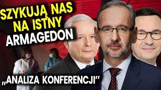Szykują Nas na Istny Armagedon! Zamykają Polskę – Analiza Konferencji Ministra Zdrowia