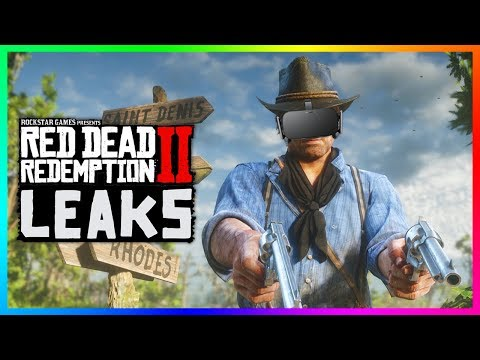 Red Dead Redemption 2 - NEW LEAKS! Details From Rockstar Employees, Virtual Reality & PC Version!