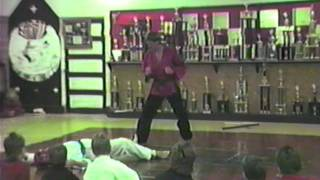John Henderson Black Belt Martial Arts Test Empty Hand & Weapons Attacks
