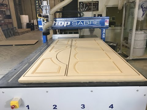 ShopSabre CNC – MDF Wainscoting with VCarve PROvideo thumb