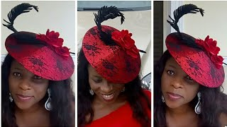 DIY Affordable Fabulous Fascinator