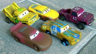 Disney Pixar Cars 3 Deluxe Diesast Set Crazy 8 Race at Thunder Hollow 5-Pack CARS 3 by TOYS CLUB