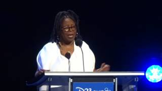 Whoopi Goldberg Disney Legends ceremony acceptance speech at D23 Expo 2017