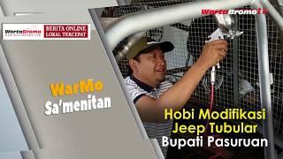 Hobi Modifikasi Jeep Tubular Bupati Pasuruan