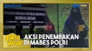 Kata Saksi soal Sosok Pria Misterius yang Disebut Antar Terduga Teroris ke Mabes Polri Pakai Mobil