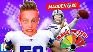 He's SO MAD! (Madden NFL 20 FRANCHISE Mode Part 2) | KIDCITY GAMING