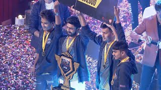 FREE FIRE INDIA TODAY LEAGUE WINNER TEAM NAWABZAADE 🔥🔥 🙏 35 LAKH RS