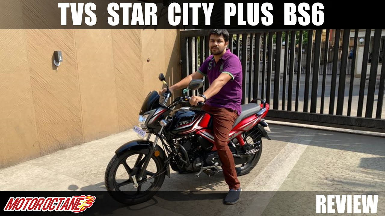 Motoroctane Youtube Video - TVS Star City+ BS6 Review | Hindi | MotorOctane