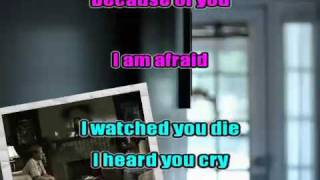 Because of you karaoke instrumental