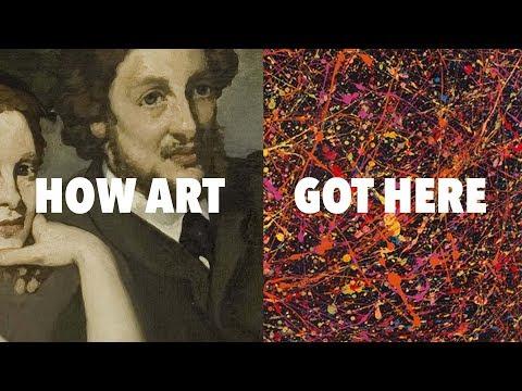 Jak se umění dostalo k Jacksonu Pollockovi - Nerdwriter1