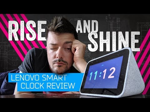 Lenovo Smart Clock Review: Your Voice Is The Snooze Button